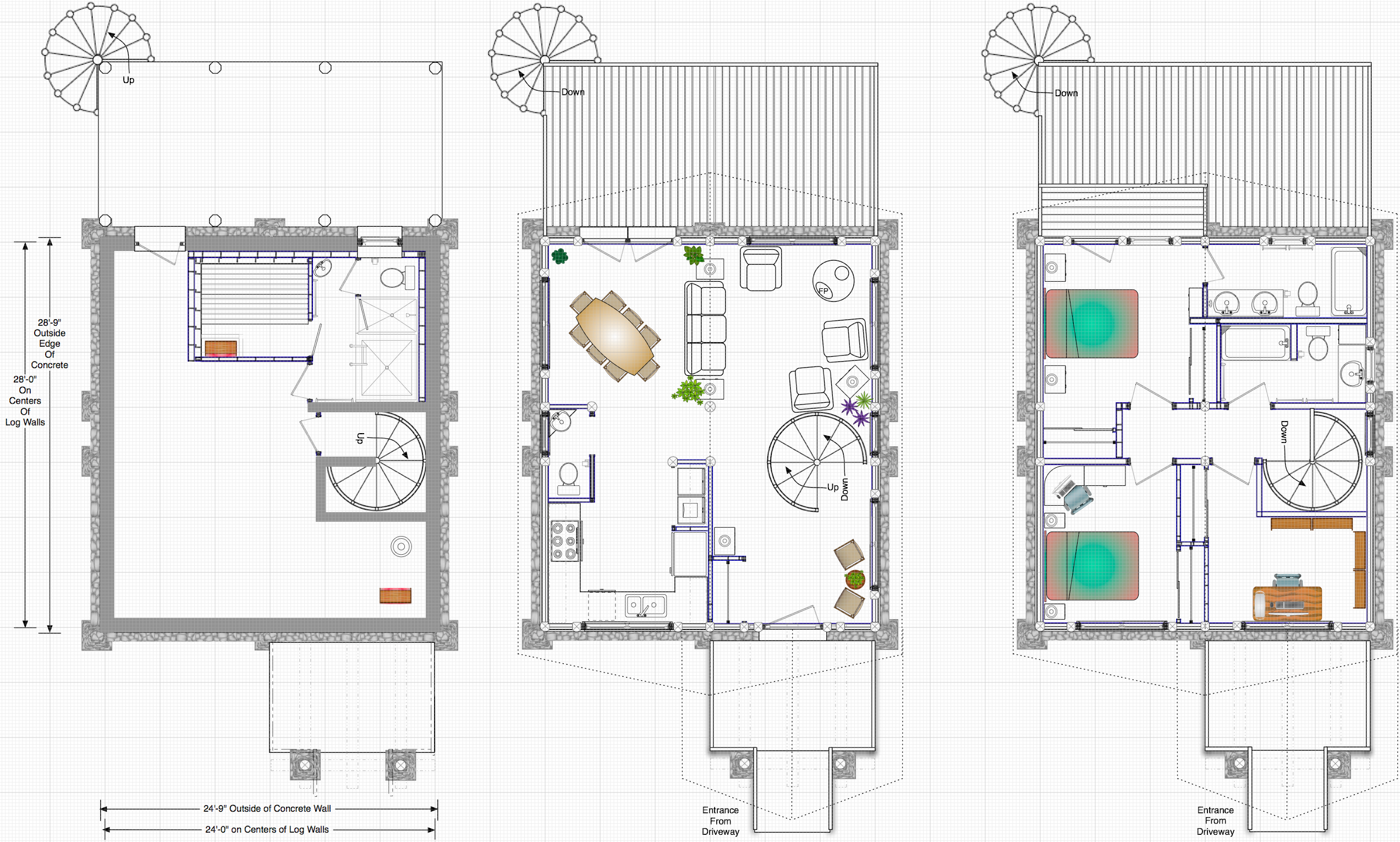Spiral Staircase House Plans House Design Plans