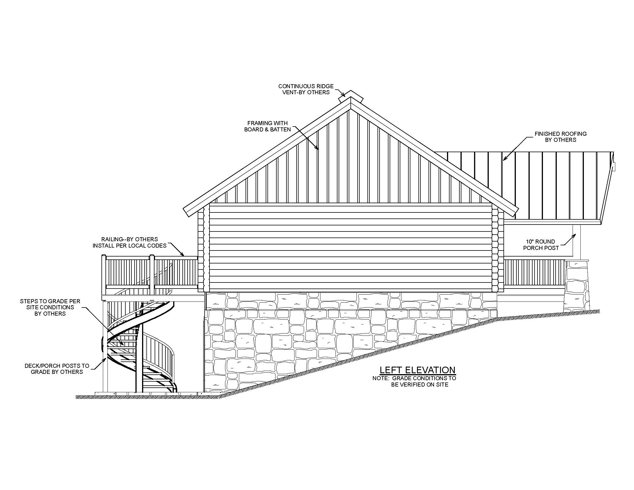 Garage Under House Plans